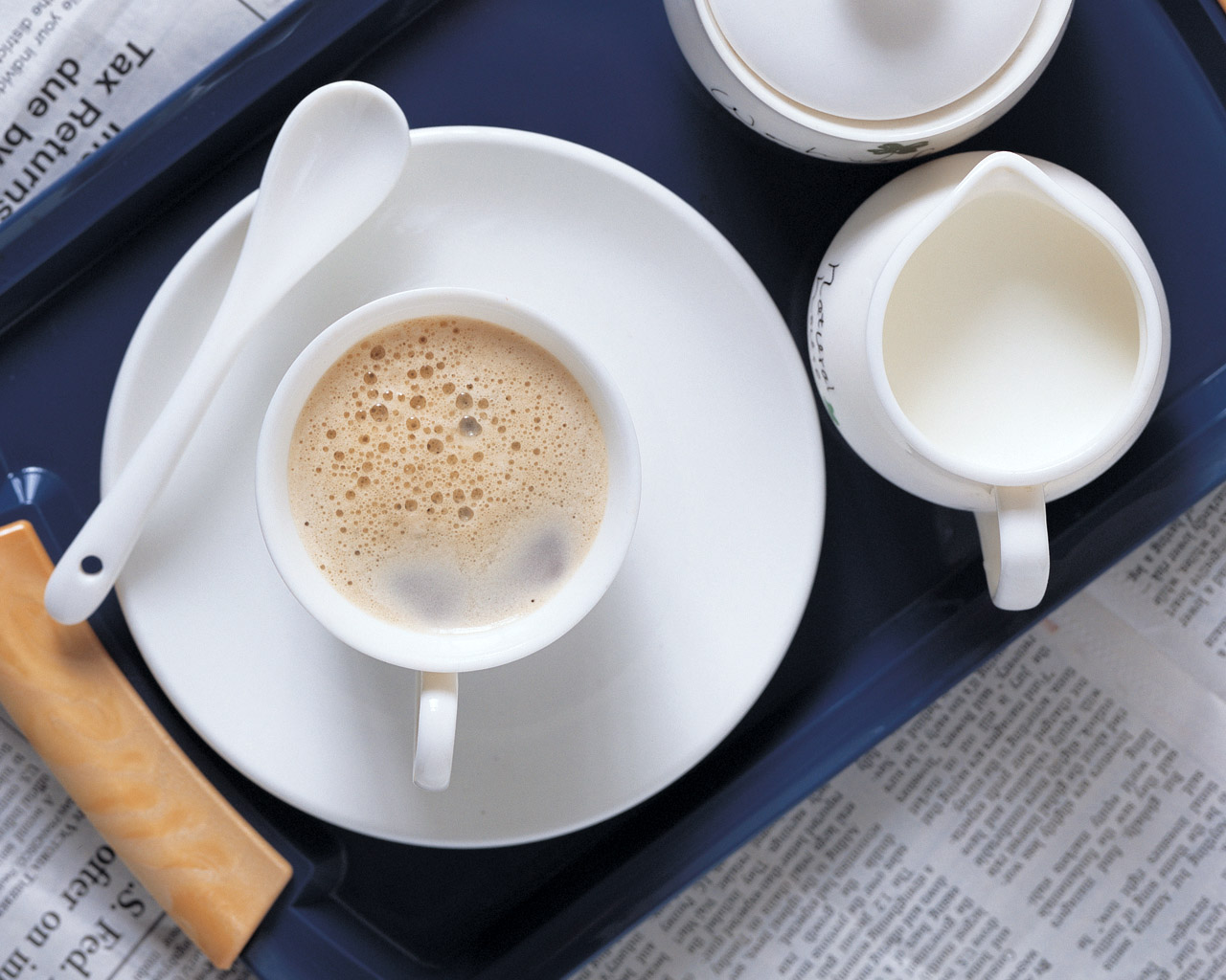Coffee with Milk wallpaper